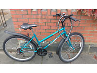 Second-hand women's bike with new seat and tyres up for Sale