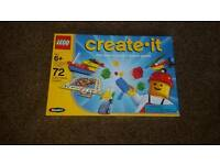 Lego Create It Board Game