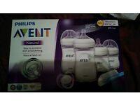 Philips AVENT newborn bottle set - never used!!