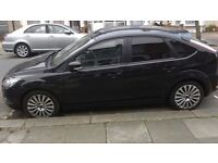 Ford Focus 2009 Titanium 5 Door hatchback Black Leather heated seated with good service history