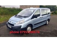 citroen dispatch 1.6 hdi turbo diesel 6 seater + wheelchair conversion