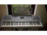 Yamaha PSR-290 Electronic Portable Midi Musical Keyboard and stand