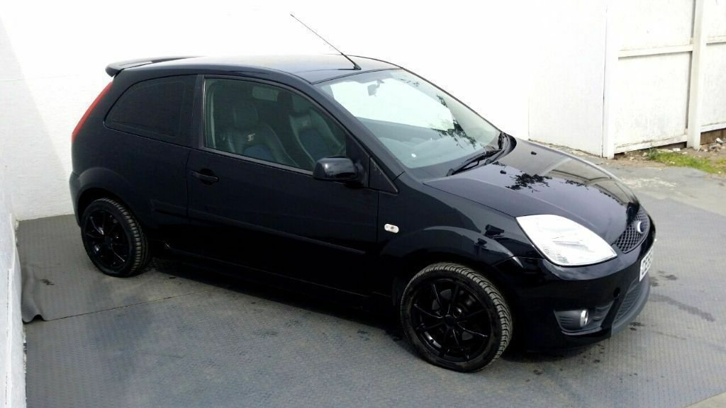 2005 ford fiesta st 2 0 petrol black upgraded alloys leather 1 year mot in wembley. Black Bedroom Furniture Sets. Home Design Ideas