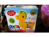 Brand new toy cute horse