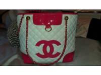 Chanel large quilted handbag shoulder bag