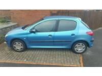 Peugeot 206 1.4 petrol REDUCED TO £350 ONO