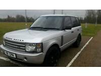 """RANGE ROVER 4.4 HSE LPG 2002 SILVER 22"""" ALLOYS FULLY LOADED DRIVES PERFECT"""