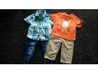 Baby boys clothes bundle - age 9-12 months