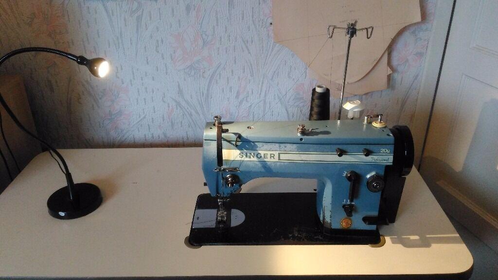 Industrial Lockstitch Zig Zag Sewing Machine Singer 40u Delectable Totally Me Zigzag Singer Sewing Machine Set