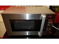Daewoo Stainless Steel 900W 28L Microwave Grill Convection Oven - spares or repairs (new)