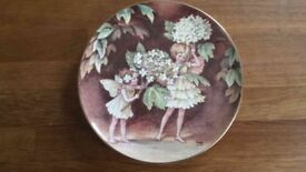 Flower Fairy Plate by Cicely Mary Barker - The Guelder RoseFairy