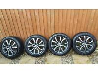 16inch 5 stud Alloys with tyres