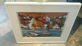 Framed Picture 'cafe del mar'