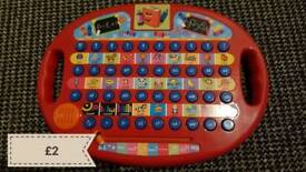 Letter learning toy