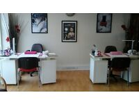 Nail Technician req'd preferably fully qualified hours and terms negotiable for suitable candidate
