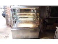 Frost-Tech Stainless Steel Grab&Go Fridge, Multi Deck Sandwich Drink Fridge