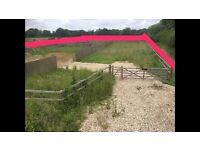 Land for sale near Basingstoke paddock yard plot