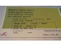 Concert tickets Kathryn Tickell x2