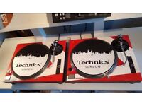 Technics SL 1210 MK2 Turntables Vinyl Decks x 2. Custom Paint. Stanton Cartridge Technics Headshells