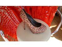 New leopard print heels