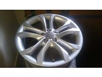Audi alloys wheels