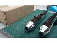 Triumph Bonneville High Flow Tors Exhaust - EXCELLENT CONDITION IN BOX! A9600382