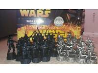 Star wars saga series. Monopoly and chess set