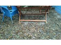 Garden and 6 chairs (3 in box)