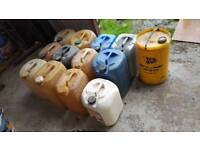 25l oil containers
