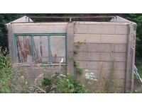 Free Single concrete sectional garage free to anyone who can collect