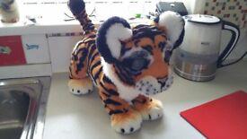 Fureal tiger