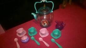 Ariel disney princess tea set