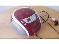 Bush Portable CD Player Radio Cassette player