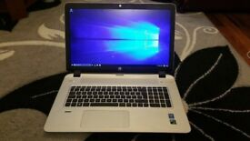 HP ENVY 17 LAPTOP BEATS AUDIO, CORE i7-5500U, 16GB RAM, IN EXCELLENT WORKING ORDER.