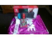 Nintendo switch plus super mario