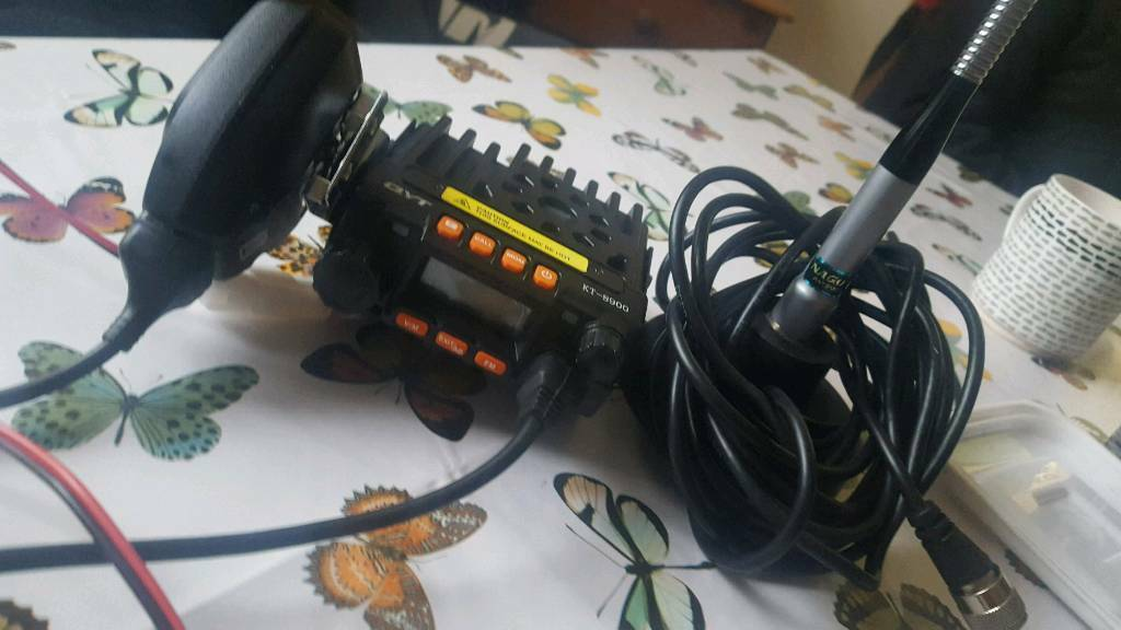 kyt kt-8900 mobile 2 meter radio with antenna | in Southampton, Hampshire |  Gumtree