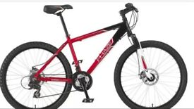 Men's mountain bike used 3 times and accessories