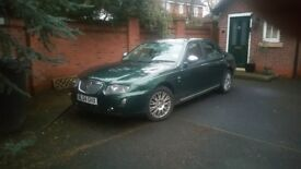 Rover 75 V6 Saloon Green Conniseur 2.4 (2004 )£250 .Spares or Repair.Head Gasket gone. 7