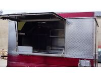 Catering trailer/burger van with pitch established for 20 years on busy industrial estate