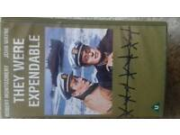 They were expendable vhs video