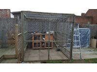 FREE Chicken Run/Enclosure or Large Rabbit Run FREE