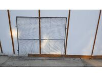 8 Sections- Galvanised Steel Mesh Dog Run Pen Outdoor Panel - Various Sizes