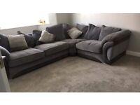 Large Grey Corner Sofa Extremly comfortable!