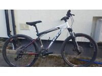 Gt aggressor xcr mountain bike project rock shox 16 inch
