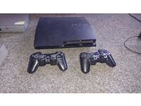Playstation 3 320gb with 2 controllers.