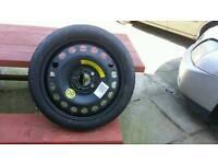 Vauxhall vectra c space saver wheel
