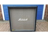 Marshall 4x12 cab for sale late 80s early 90s conditionvfair for age £130 collection only!!
