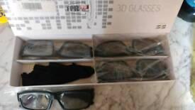 3D GLASSES FOR TVS