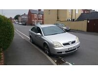 Cheap ideal family car ,Vauxhall Vectra 54 reg in silver ,px welcome