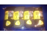 10 pairs of mens work sock size 6_11